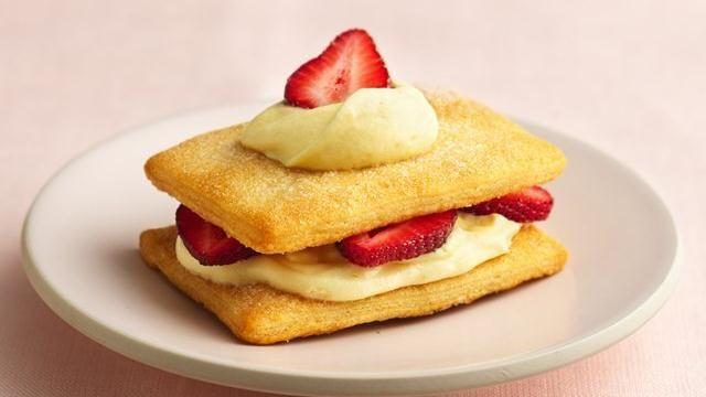 Crescent Strawberry Napoleons | Recipe