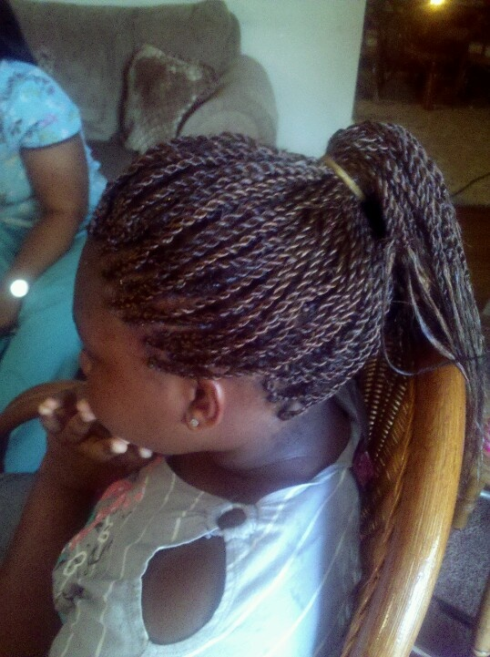 shaved side hairstyles men : Senegalese twist ?Hair By Me ? Pinterest