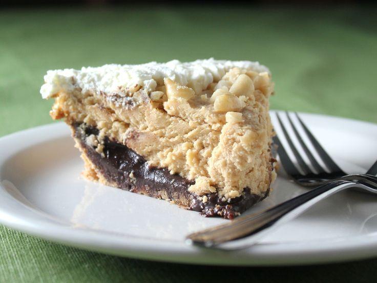 Black Bottom Peanut Butter Pie | Desserts | Pinterest