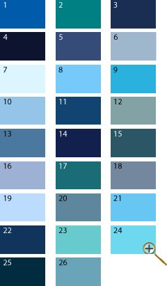 Prussian blue color pantone