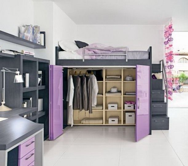 loft beds for girls with desk Home