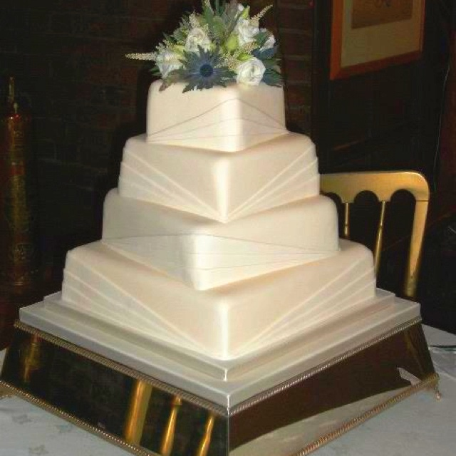 Art Deco Grooms Cake : Art deco cake Wedding Cakes Pinterest