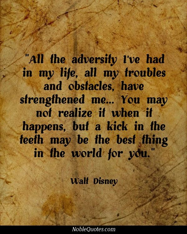 life quotes on adversity quotesgram
