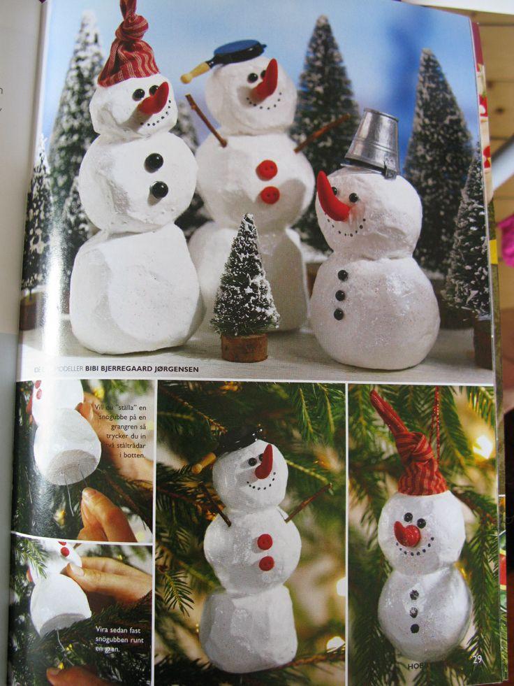 sn gubbar christmas crafts pinterest