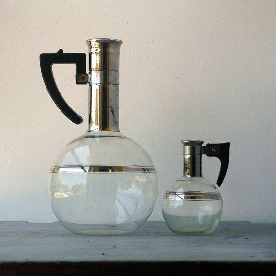 Lab Glass Coffee Maker : Lab Glass Coffee Carafe & Creamer