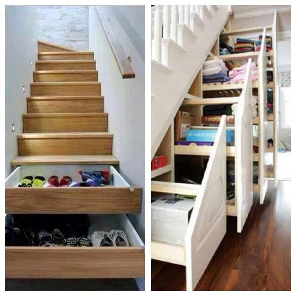 stair drawers house ideas pinterest