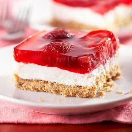 Judy's Strawberry Pretzel Salad - 15 Fresh Fruit Salad Recipes