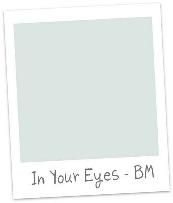 benjamin moore in your eyes - master bathroom walls