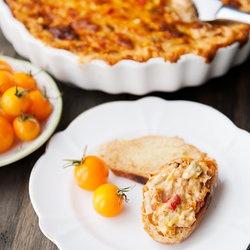 Maine Travel and Artichoke Roasted Pepper Crab Dip — Punchfork