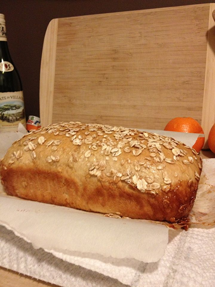 Honey Oat Bread | Recipes | Pinterest