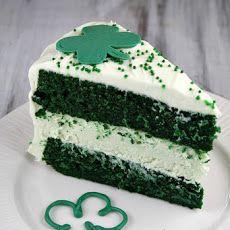Green Velvet Cheesecake Cake | Cakes / Bars / Breads | Pinterest