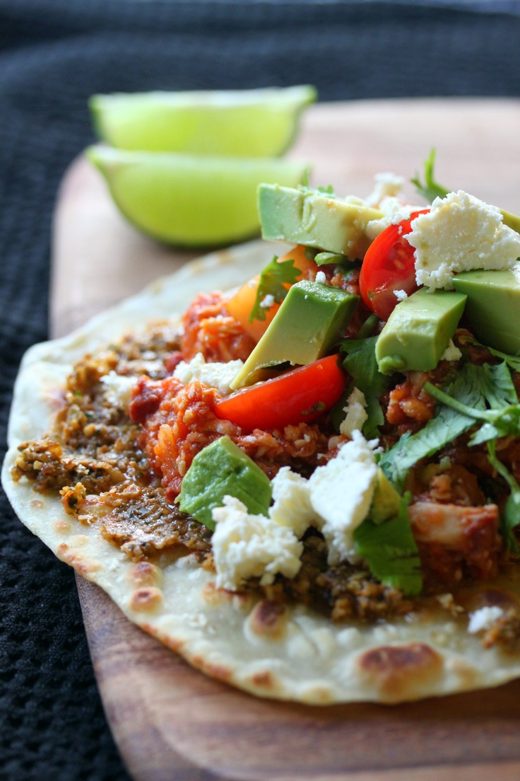 Chicken Tinga Tostadas | Cooking | Pinterest