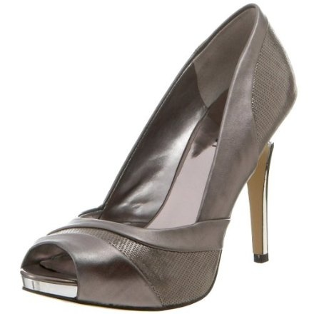 Pewter bridesmaid shoes dana n shannon wedding pinterest for Pewter dress shoes for wedding