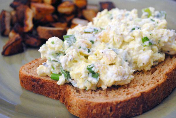 Cream Cheese Scrambled Eggs | Recipe Ideas | Pinterest