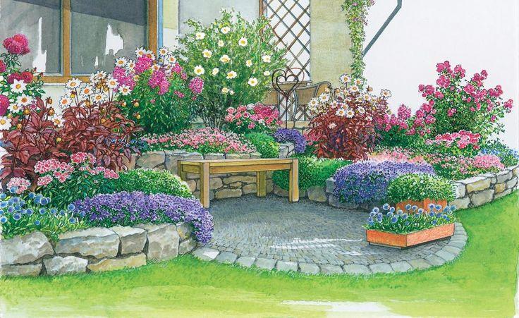 Schoner Garten Mit Wenig Aufwand Möbelideen 7004951 - sixpacknow.info
