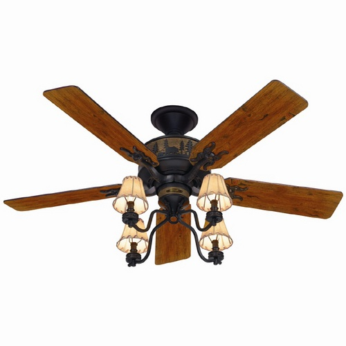 Hunter Adirondack Ceiling Fan. This is the fan we have in the living ...