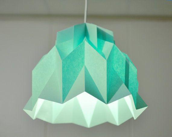 paper lamp mint green pinterest. Black Bedroom Furniture Sets. Home Design Ideas