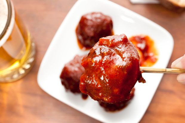 Elk Meatballs with Bourbon Barbecue Sauce...making these for Sunday ...