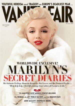 Marilyn Monroe on Vanity Fair ~ Nov. 2010