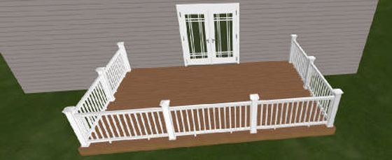12 X 20 Deck Kit Dream House Pinterest