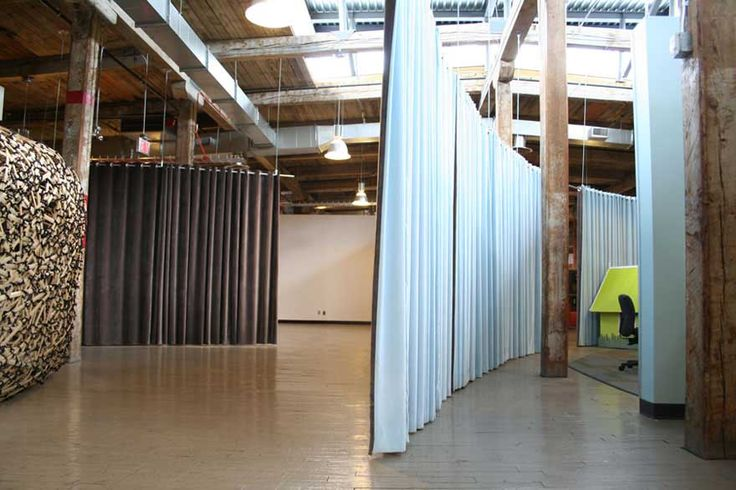 Curtain room dividers for the home pinterest - Hanging room divider curtains ...