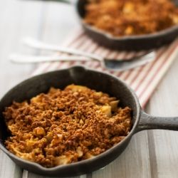 Apple Pear Quinoa Crumble - A healthier dessert without sacrificing ...