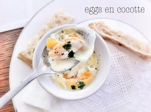 Eggs en Cocotte | ↚ Breakfast ↛ | Pinterest