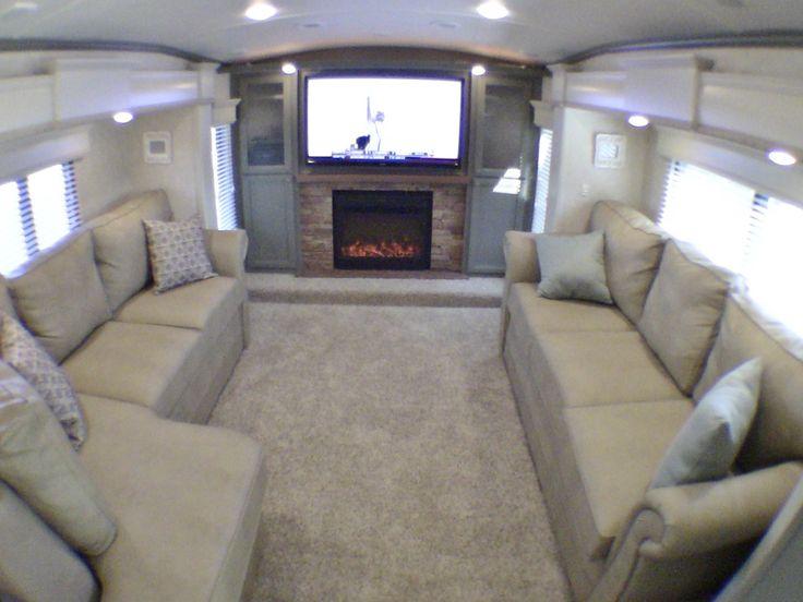 390 luxury front living room 5th wheel 5 slides fully loaded rv