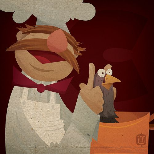 C is for The Swedish Chef by David Vordtriede