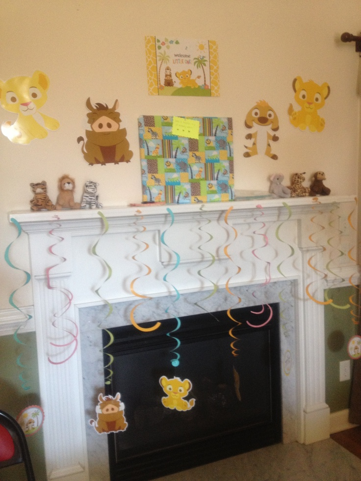 our baby shower lion king jungle themed tk 39 s baby shower pintere