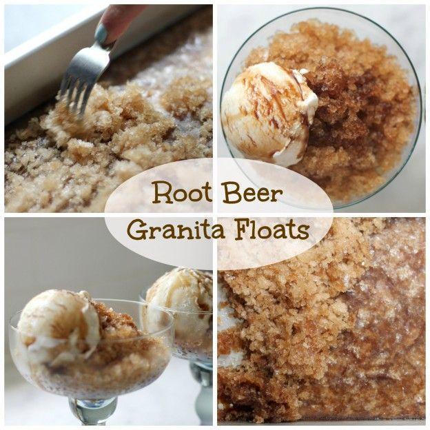 root beer granita float by @Sheri Silver /donuts, dresses and dirt YUM ...