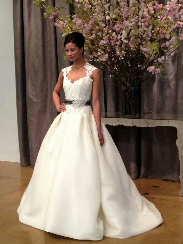 Black Belted Wedding Dress Wedding Dresses Pinterest