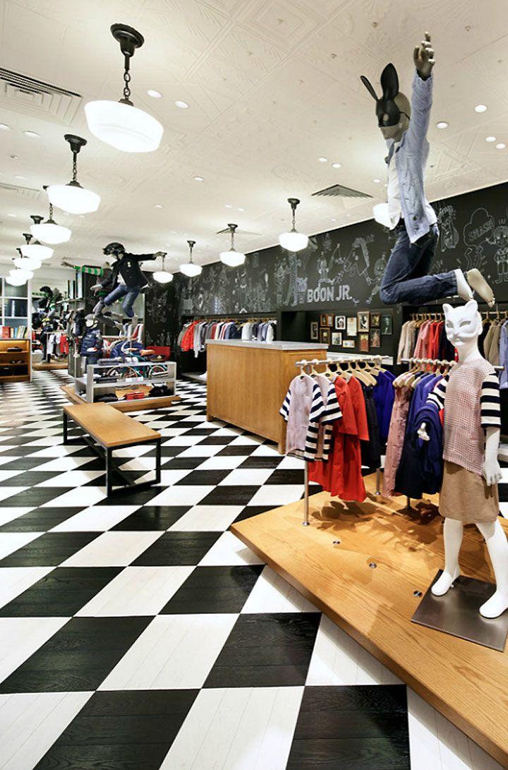 Boon jr store by wonderwall seoul kids store design