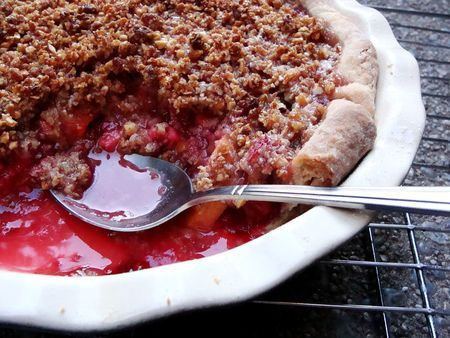 Almond Oat Crumb Topping | Food Glorious Food | Pinterest