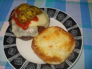 Do you like garlic bread? Then you'll love Garlic Bread Spread Buns for hamburgers.