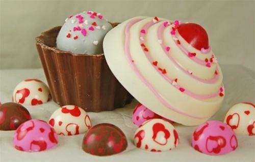 Truffle filled choco cupcake!! | ♡ Sweety Foodiez | Pinterest