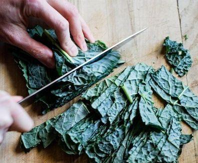 Kale & Tofu Salad Raw kale (4g) Tahini (3g) 1/4 cup avocado (1g) Diced ...