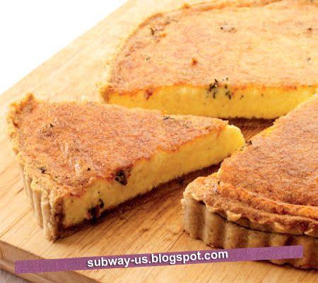 parmesan cheese and walnut tart recipe | Cooke | Pinterest
