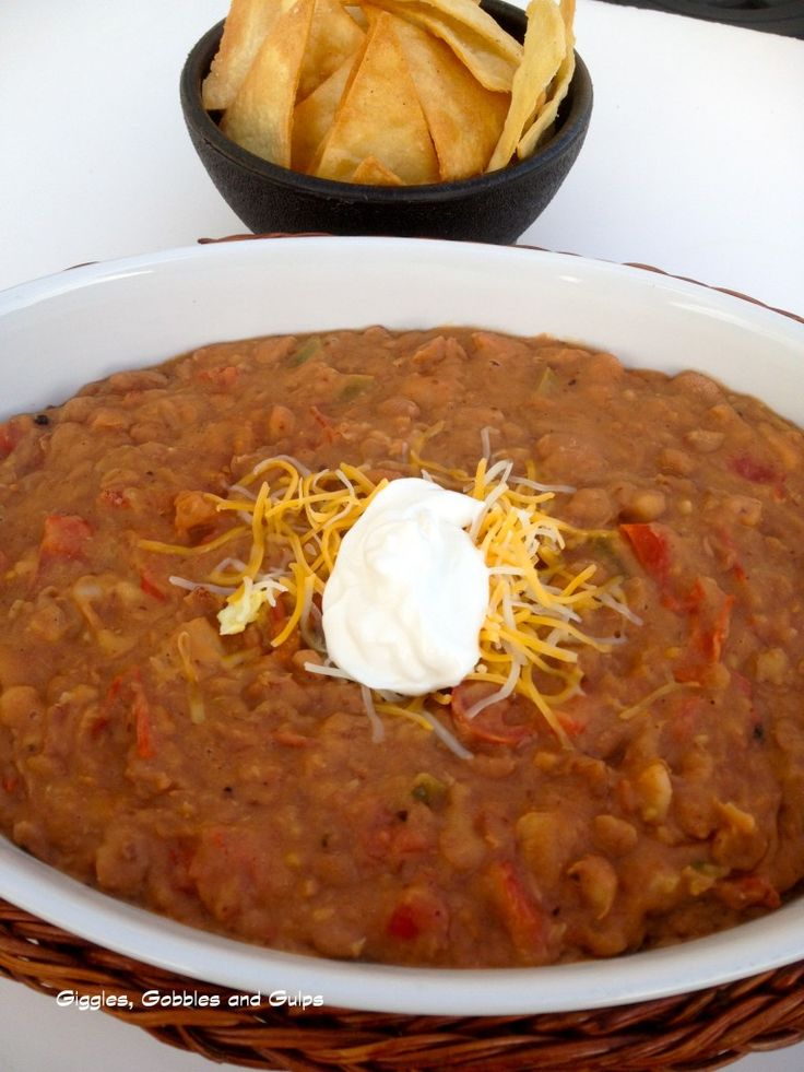 Malt Mondays: Beer, Bacon and Bean Dip - Giggles, Gobbles and Gulps