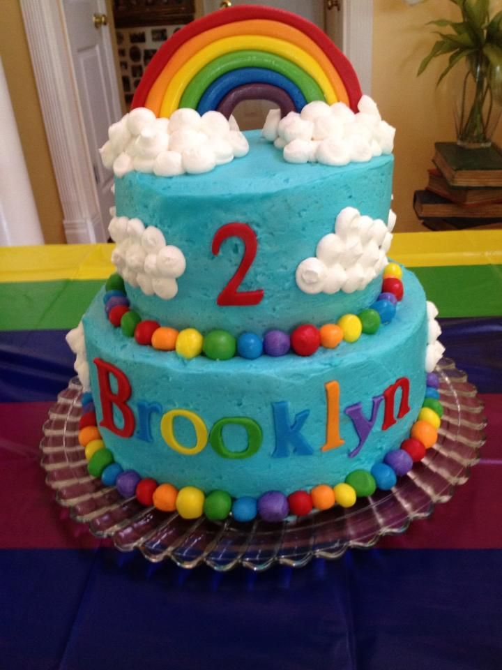 Birthday Cake Ideas Rainbow : Rainbow cake Party Ideas Pinterest