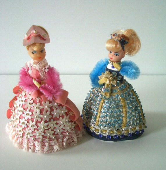 vintage pinflair sequin beaded dolls blast from the past