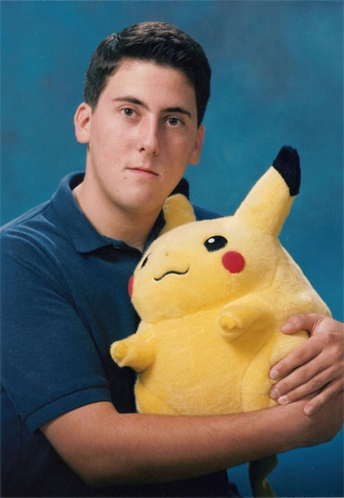 "Funny Senior Pictures - ""Catch 'em all!"""