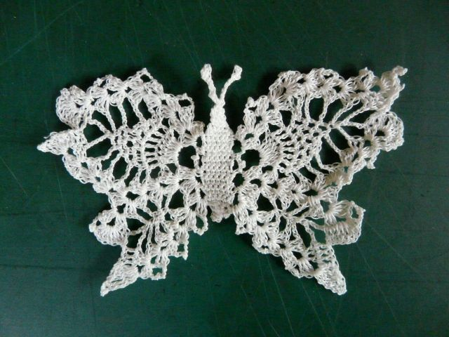 Pin by LaVerne H on crocheted butterflies, birds, and bees ...