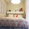 tiniest bedroom....but oh so pretty!