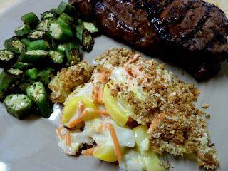 Cookin' Cowgirl: Mom's Summer Squash Casserole | Dessert ideas ...