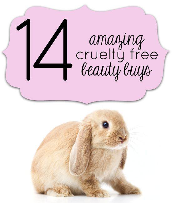 14 Great Cruelty Free Beauty Buys