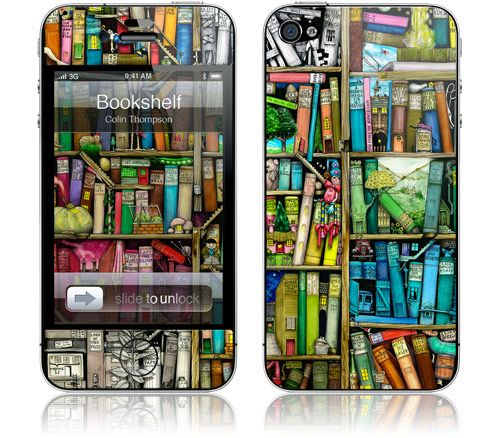 Love the colors on this iPhone 4S skin...