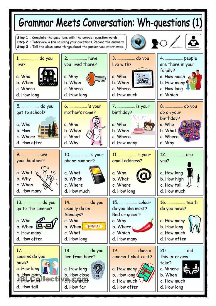 Free esl worksheets for adults pdf