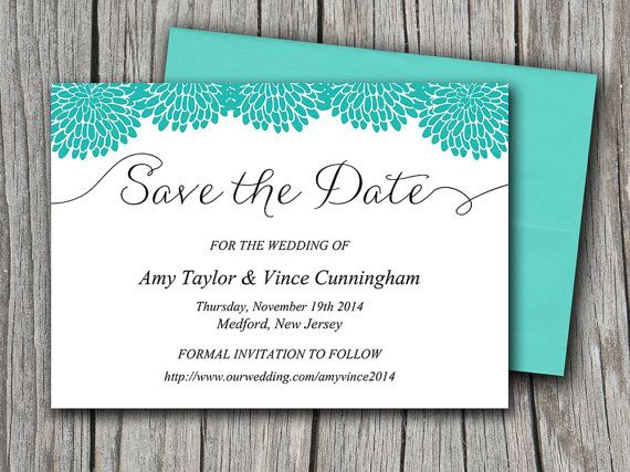 save the date templates free for word