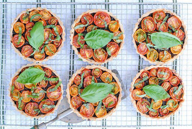 BLT Bacon Jam Tartlets | Relish.com via @honestcooking